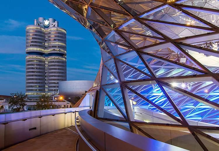 siedziba BMW Monachium Niemcy