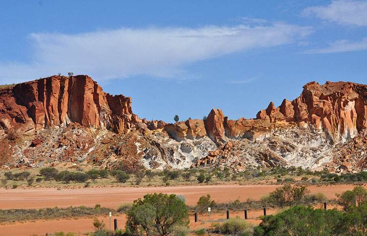 okolice miasta Alice Springs Terytorium Północne