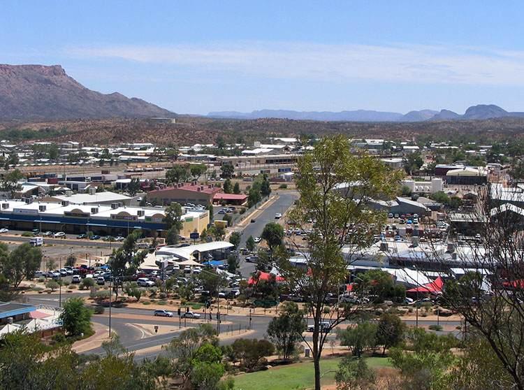 miasto Alice Springs ciekawostki Australia