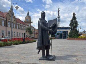 Pomnik Lubacza rynek Lubaczów ciekawostki