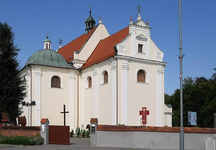 kościół Złotów ciekawostki Wielkopolska zabytki