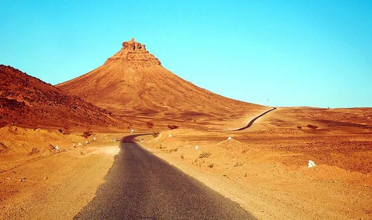 pustynia Maroko ciekawostki droga
