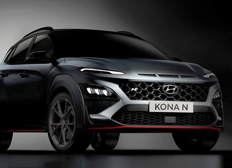 samochód Hyundai KONA N