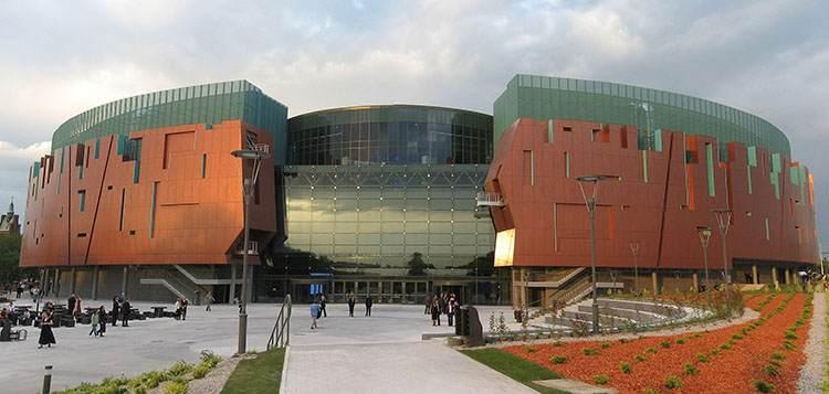 Cuprum Arena stadion w Lubinie