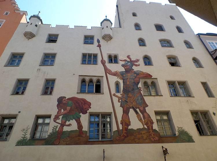Goliathhause Dom Goliata Ratyzbona ciekawostki zabytki Regensburg