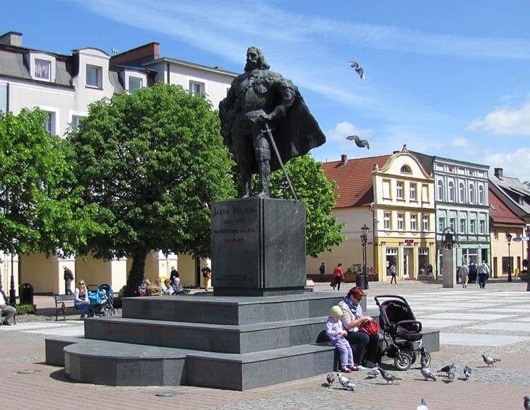 Jakub Wejher pomnik Wejherowo ciekawostki historia
