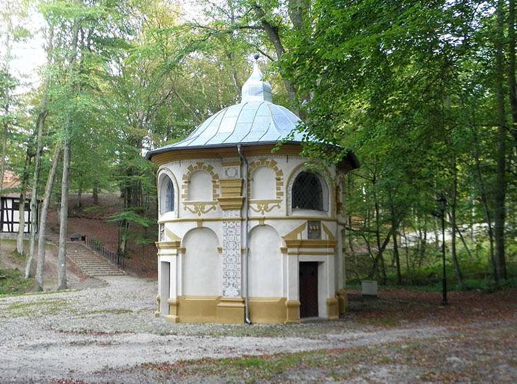 Kalwaria Wejherowska kapliczka