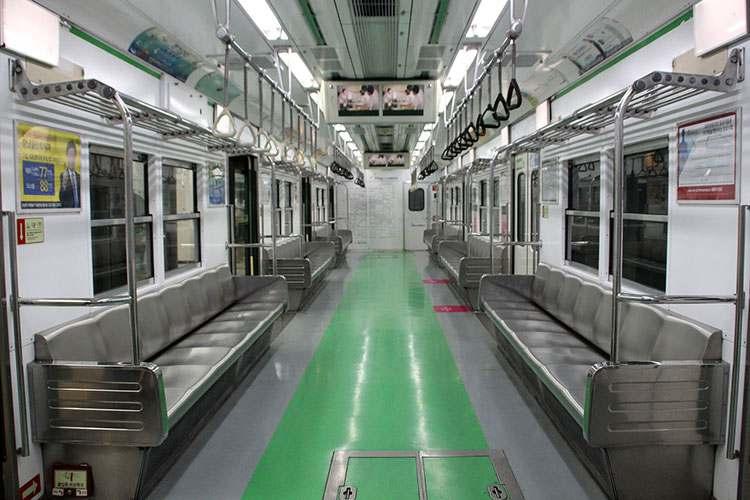 Korea Południowa Seul wagon metra