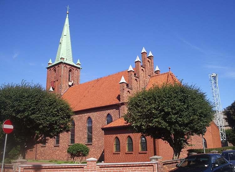 Kuźnica atrakcje kościół