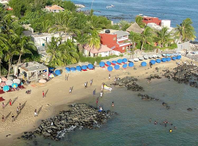N'Gor plaża Senegal ciekawostki palmy