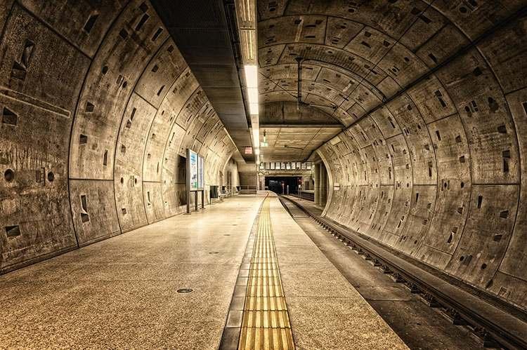 Niemcy Kolonia stacja metra