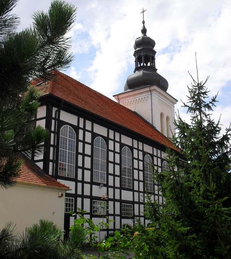 Ostrów Wielkopolski ciekawostki kościół MB Królowej Polski