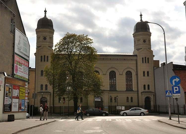 Ostrów Wielkopolski synagoga zabytek