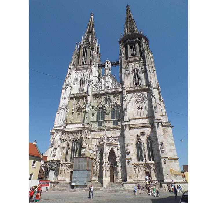 Regensburg katedra w Ratyzbonie kościół