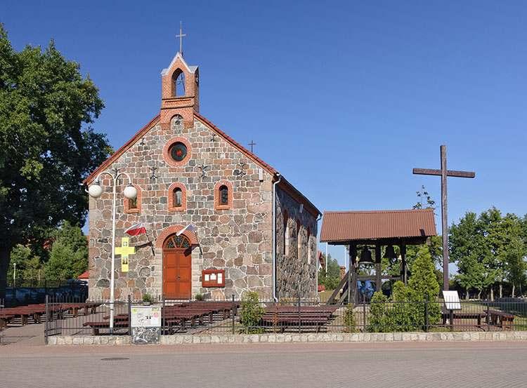 Rowy atrakcje kościół neoromański