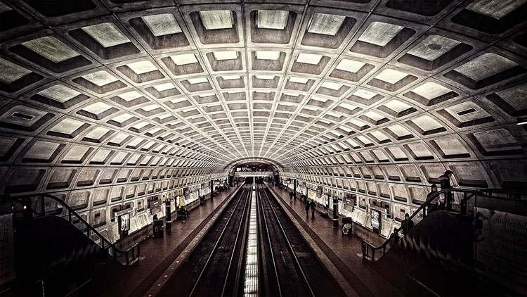 USA Waszyngton metro ciekawostki