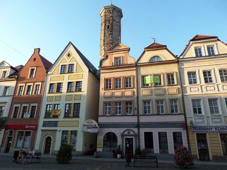 Wieża Kramarska Lubań ciekawostki stare miasto