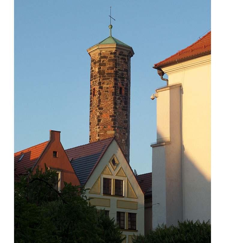 Wieża Kramarska w Lubaniu