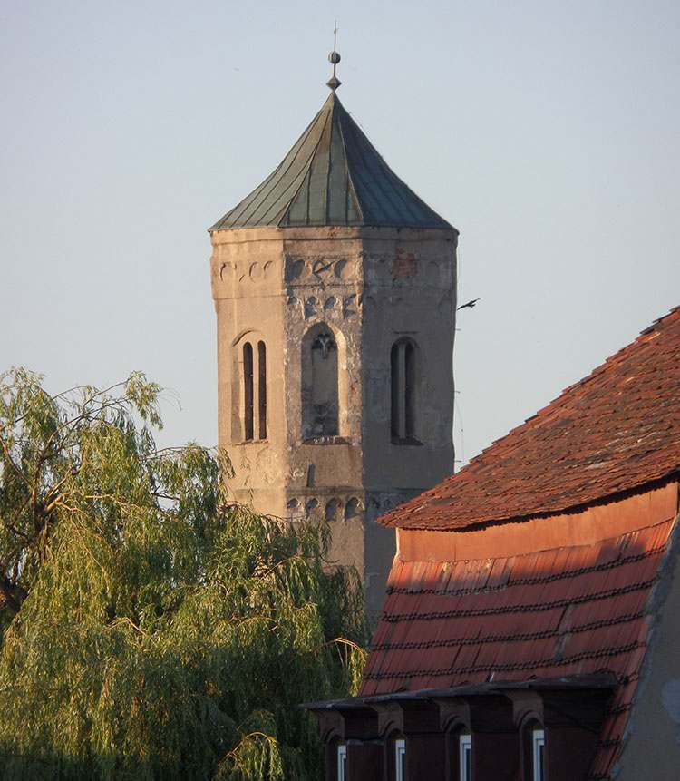 Wieża Trynitarska Lubań zabytki