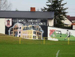 mural boisko Mszczonów ciekawostki