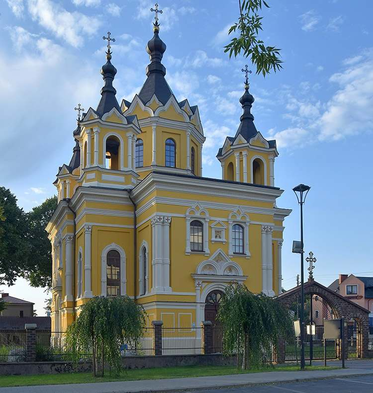 cerkiew św. Mikołaja Tomaszów Lubelski zabytki atrakcje