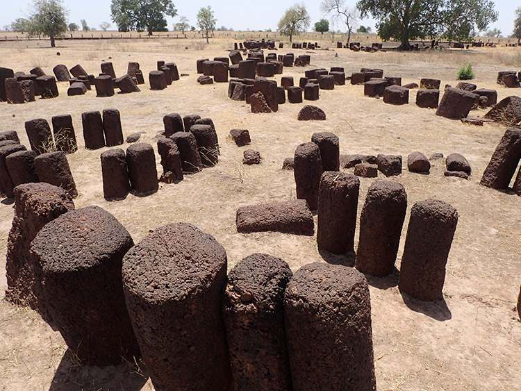kamienne kręgi Sine Ngayene Senegal ciekawostki