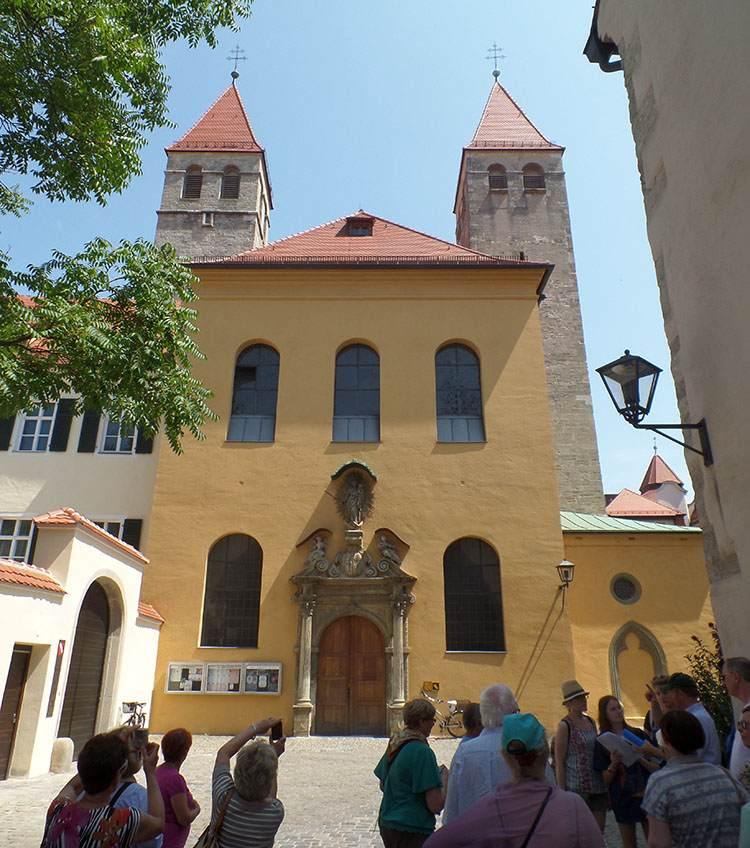 kirche kościół w Ratyzbonie Regensburg zabytki