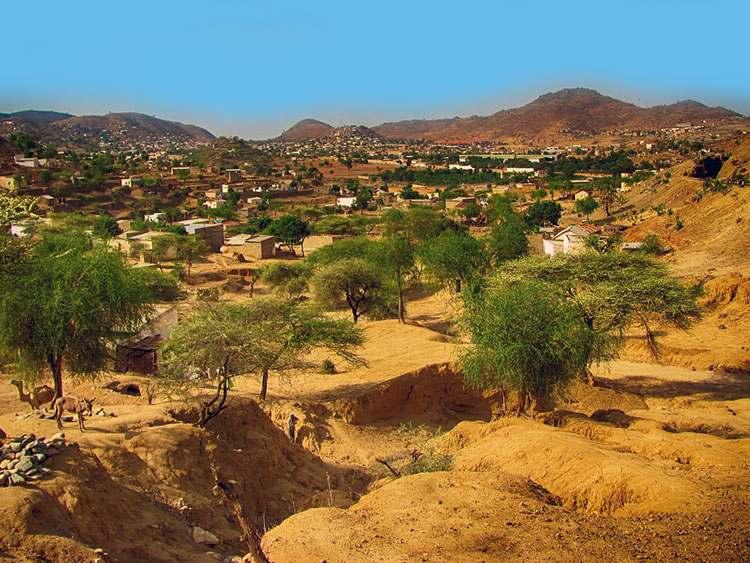 pejzaż Erytrea ciekawostki Afryka