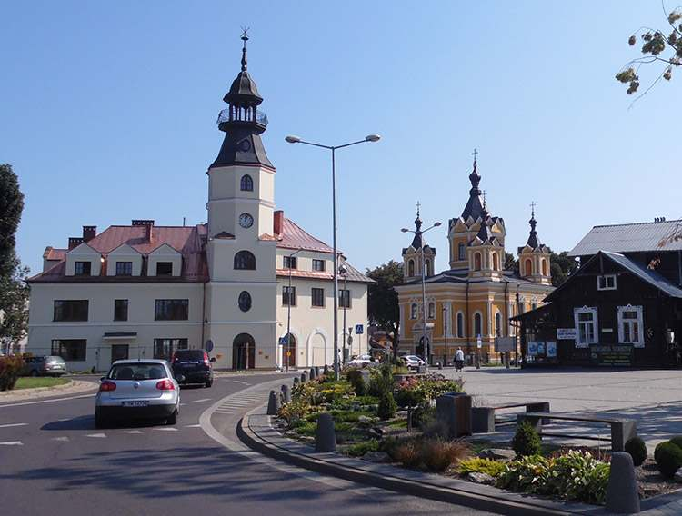 miasto centrum rynek Tomaszów Lubelski ciekawostki