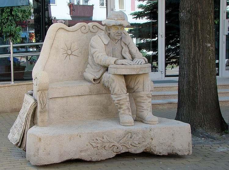 sitarz pomnik Biłgoraj Roztocze atrakcje