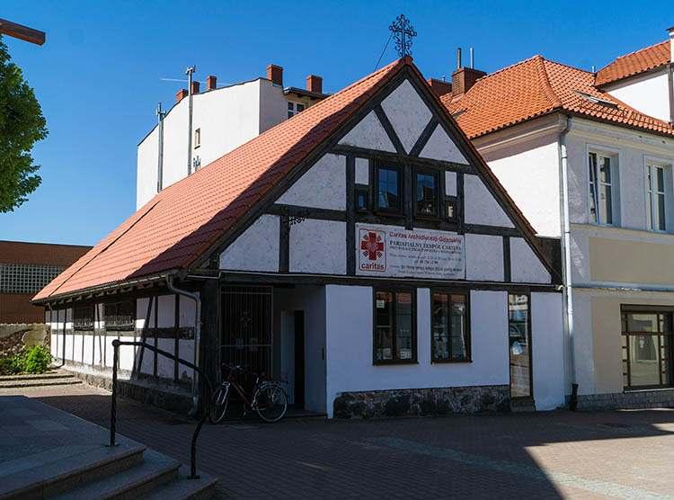szpitalik przytułek w Wejherowie zabytki atrakcje