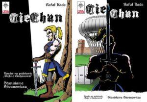 Cie-Chan komiks Ciechanów Rafał Kado komiksy