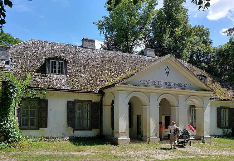 Dwór Cieszkowskich Sucha muzeum skansen atrakcje