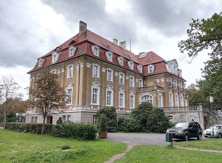 Kochcice pałac pałace śląskie