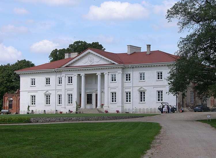 Korczew pałac Siedlce okolice atrakcje