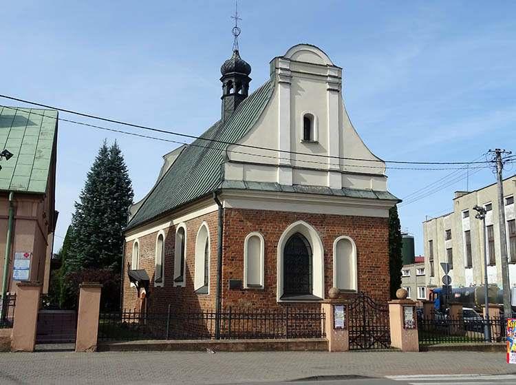 Kościół św. Ducha Sierpc ciekawostki zabytki