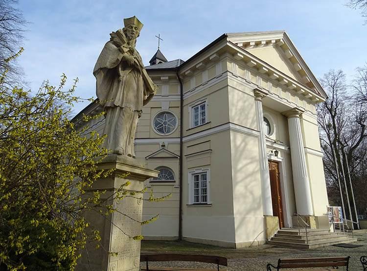 Nadarzyn ciekawostki kościół