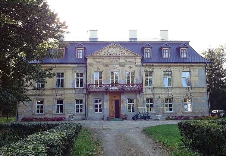 Nakło pałac powiat częstochowski pałace śląskie