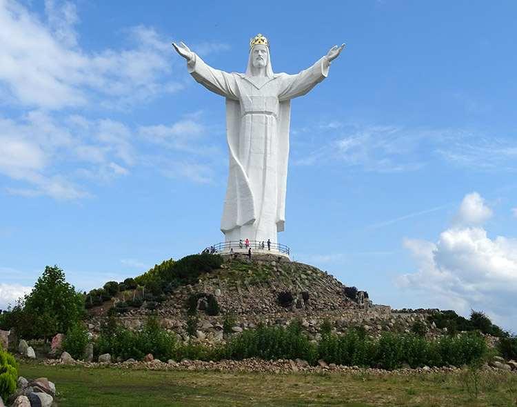 Świebodzin figura Chrystusa Króla województwo lubuskie atrakcje