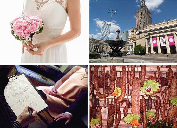 atrakcje weselne Warszawa atrakcje na wesele w Warszawie ślub woj. mazowieckie Mazowsze