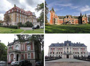 pałace śląskie województwo Śląsk na Śląsku