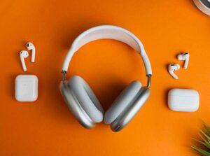 słuchawki douszne nauszne