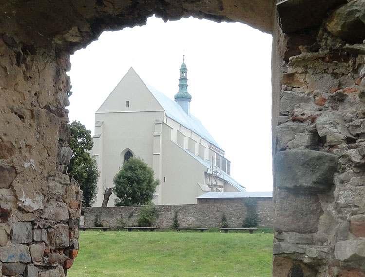 Bodzentyn kościół w Bodzentynie zabytki