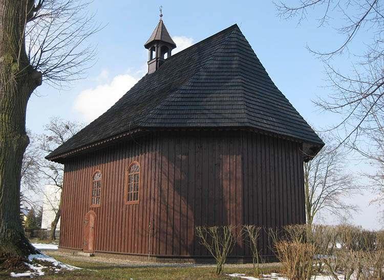 Kościół Świętego Krzyża Września ciekawostki zabytki