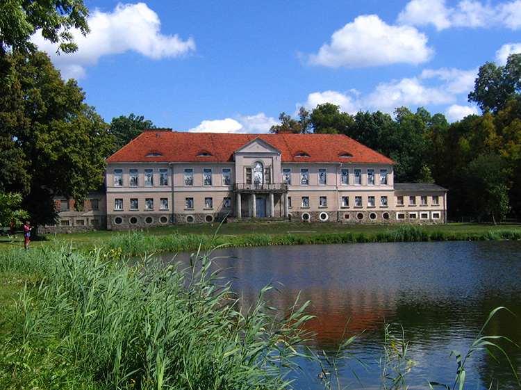 Owińska pałac rodziny von Treskow