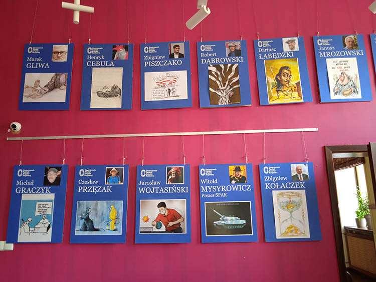 Wrocławski Salon SPAK wystawa Wrocław rysunek satyryczny