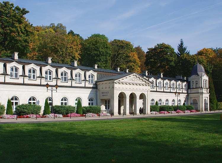 sanatorium Stare-Łazienki Nałęczów ciekawostki