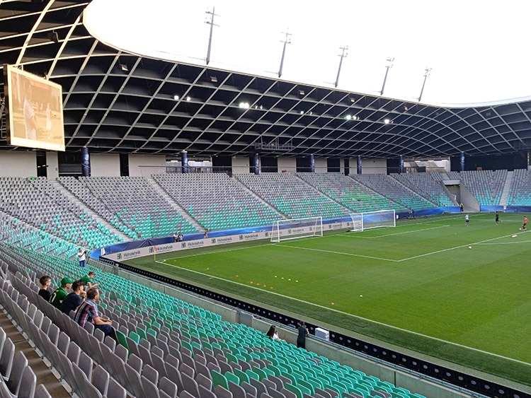 Stožice Stadium Ljubljana Lublana Słowenia piłka nożna
