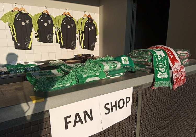 fan shop koszulki szaliki Olimpija Champion Ljubljana Słowenia