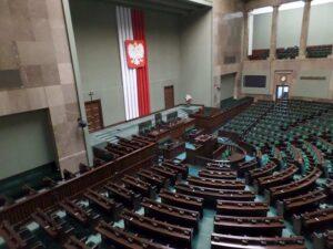 sala plenarna Sejm ciekawostki informacje historia Sejmu RP